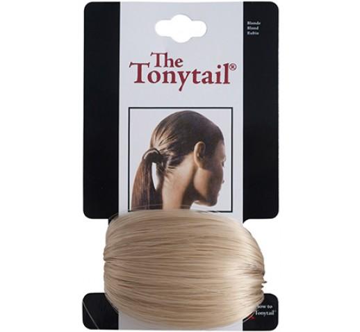 Mia Tonytail Ponytail Hair Wrap, Blonde