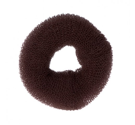 Dress Me Up Hair Donut Brown  Large