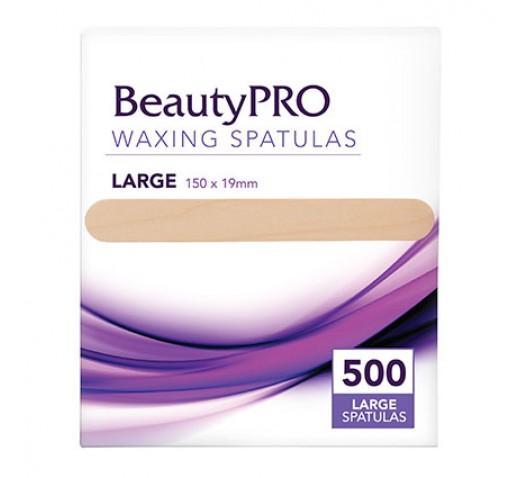 BeautyPro Large Wood Applicators 500Pc