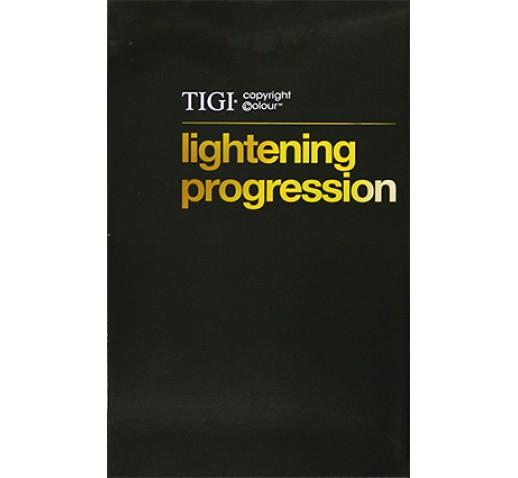 TIGI Copyright Colour Lighten Progression Chart