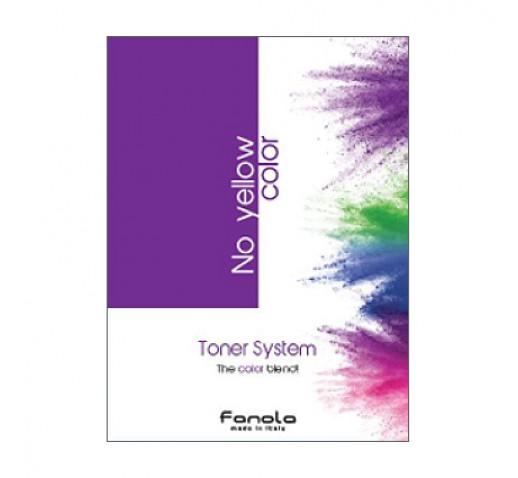 Fanola No Yellow Colour Toner System Chart