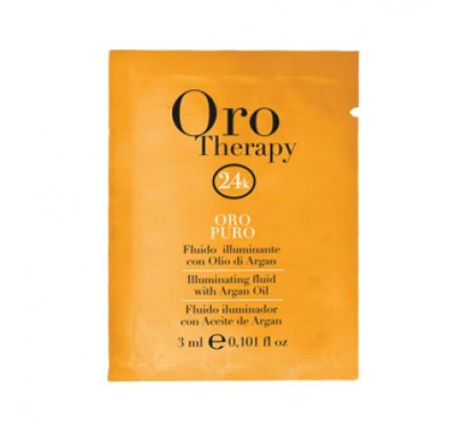 Oro Therapy 24k Puro IllumiNaturaling Fluid 3ml Sachet