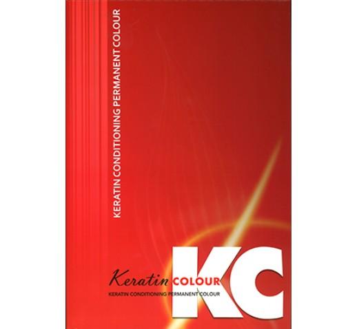 Keratin Colour Chart For Permanent Colours